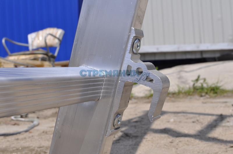 Как сделать лестницу из алюминиевых профилей